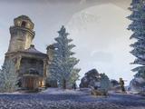 Enchanted Snow Globe Home