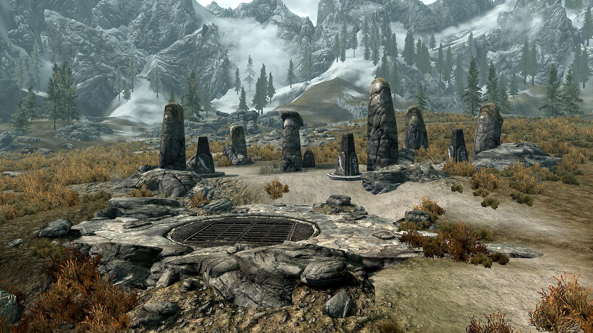 Загадочные нордские колонны