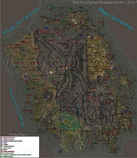 Карта Вварденфелла 2.0
