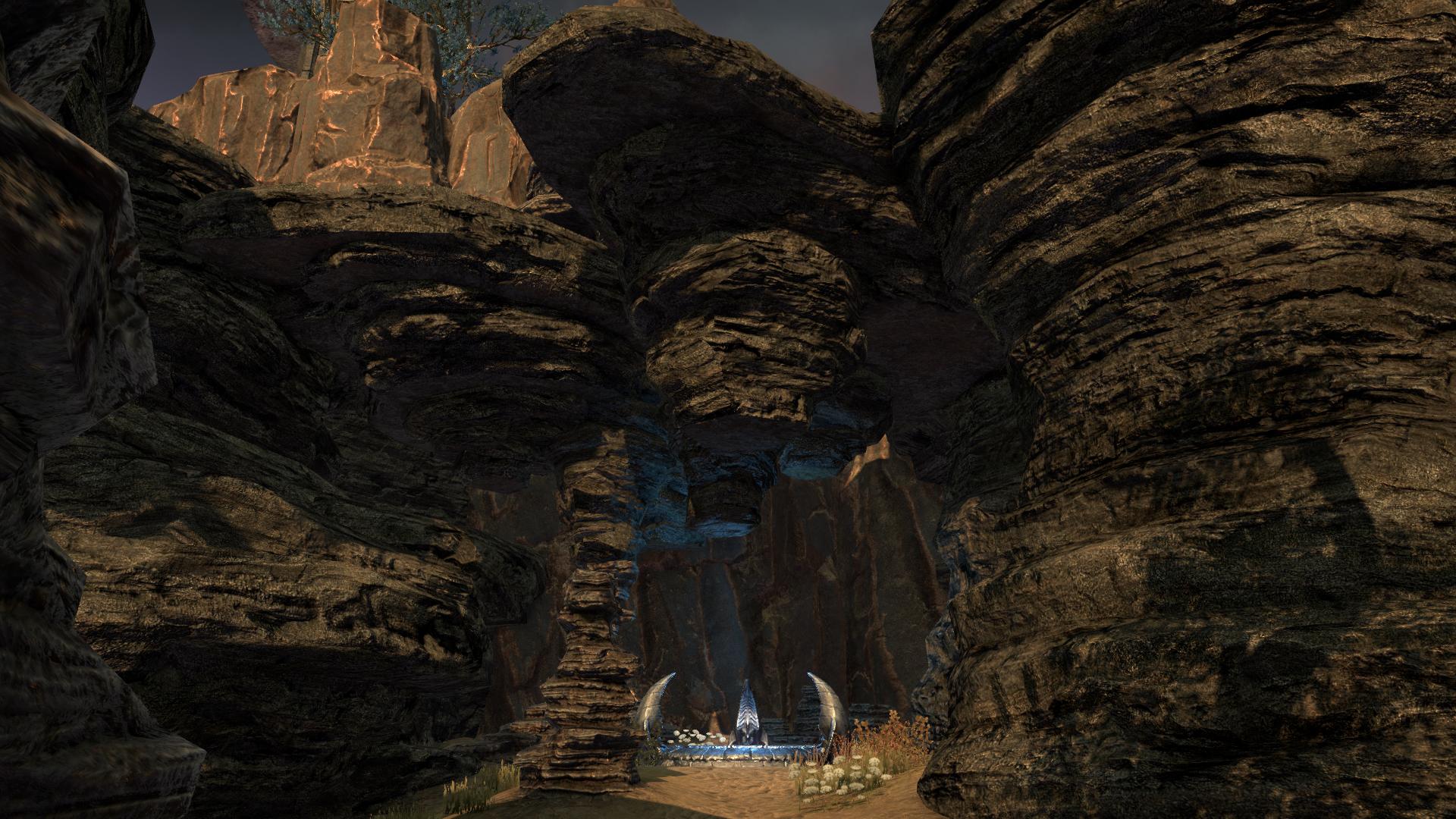Тенистая расщелина (локация)