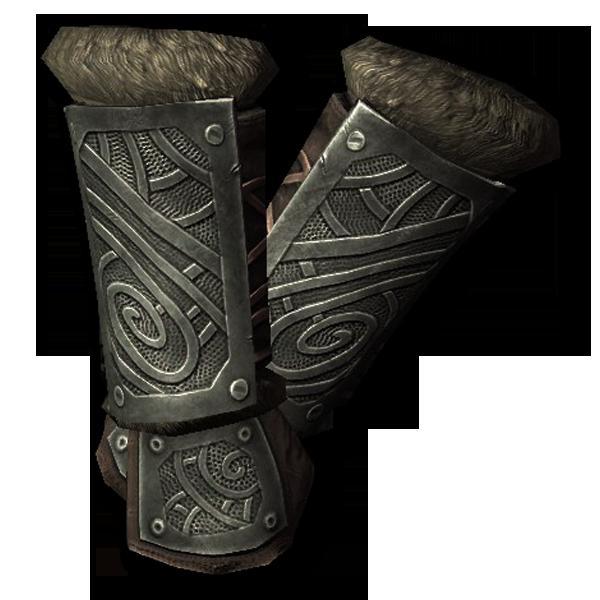 Стальные нордские перчатки
