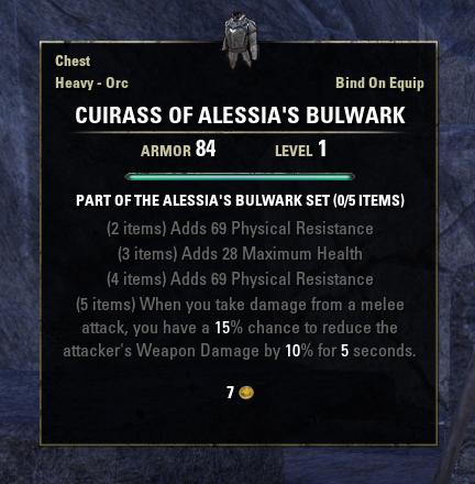 Alessia's Bulwark