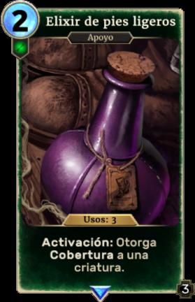Elixir de pies ligeros (Legends)