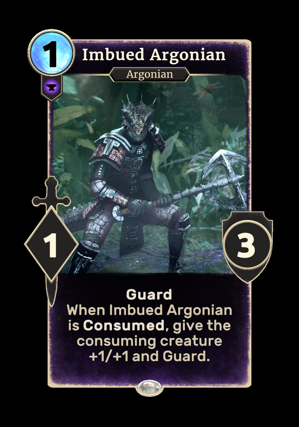 Imbued Argonian