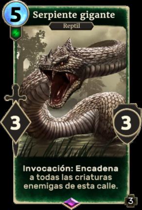 Serpiente gigante (Legends)