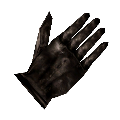 Black Right Glove