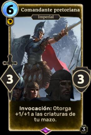 Comandante pretoriana