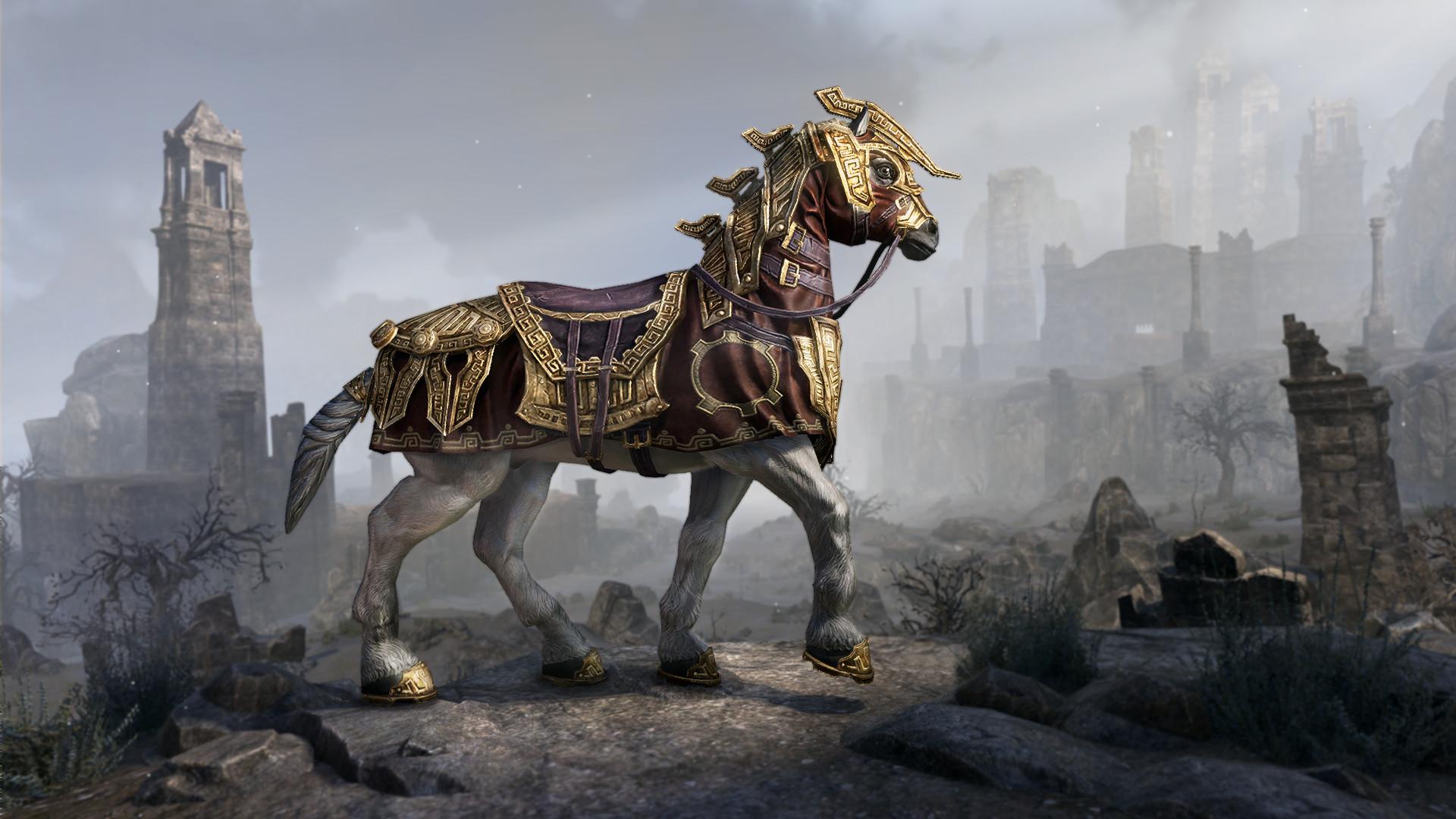 Dwarven War Horse