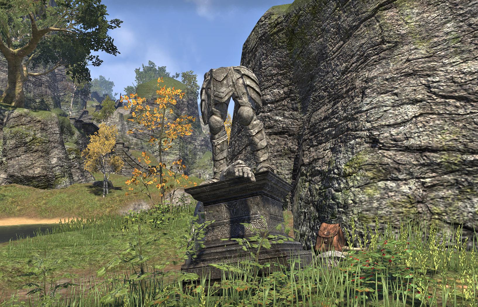Forgotten Statue