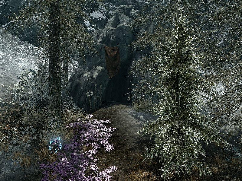 Забытая долина — Пещера