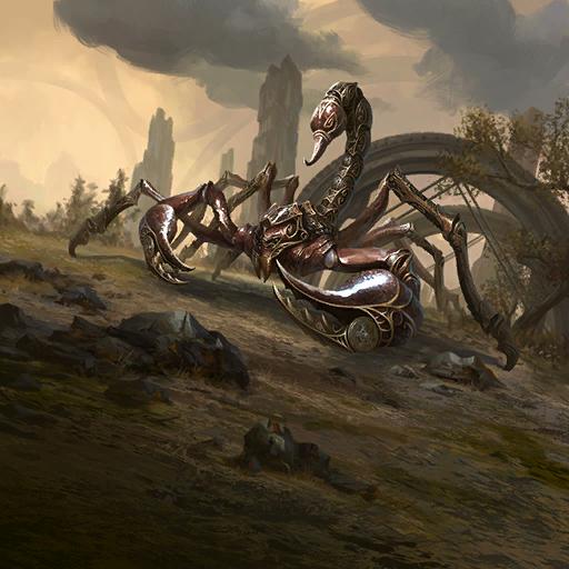 Mechaniczny skorpion