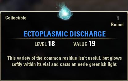 Ectoplasmic Discharge