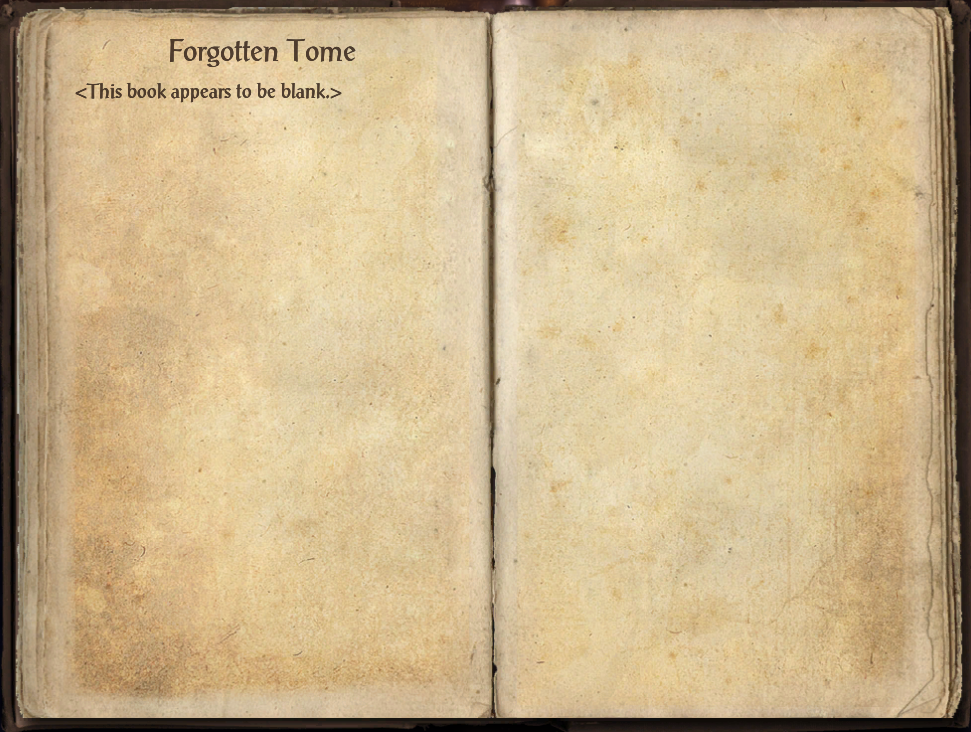 Forgotten Tome