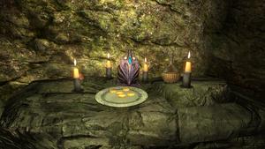 Кристаллическая пещера — алтарь Кинарет