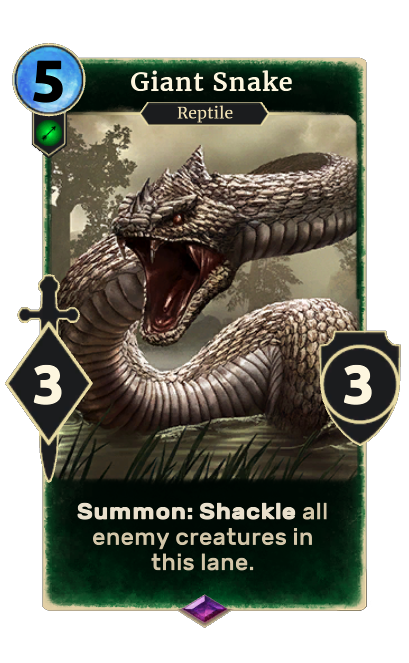 Giant Snake (Legends)