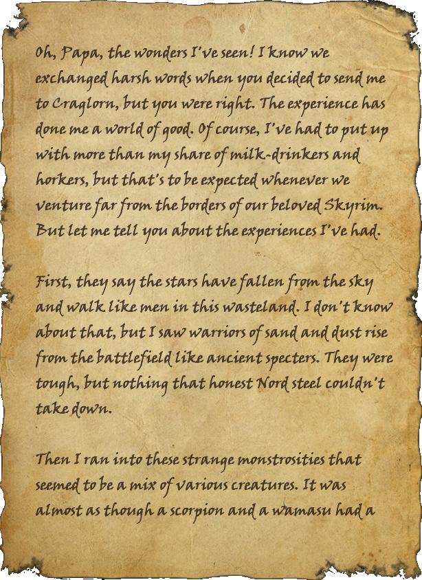 The Wonders of Craglorn