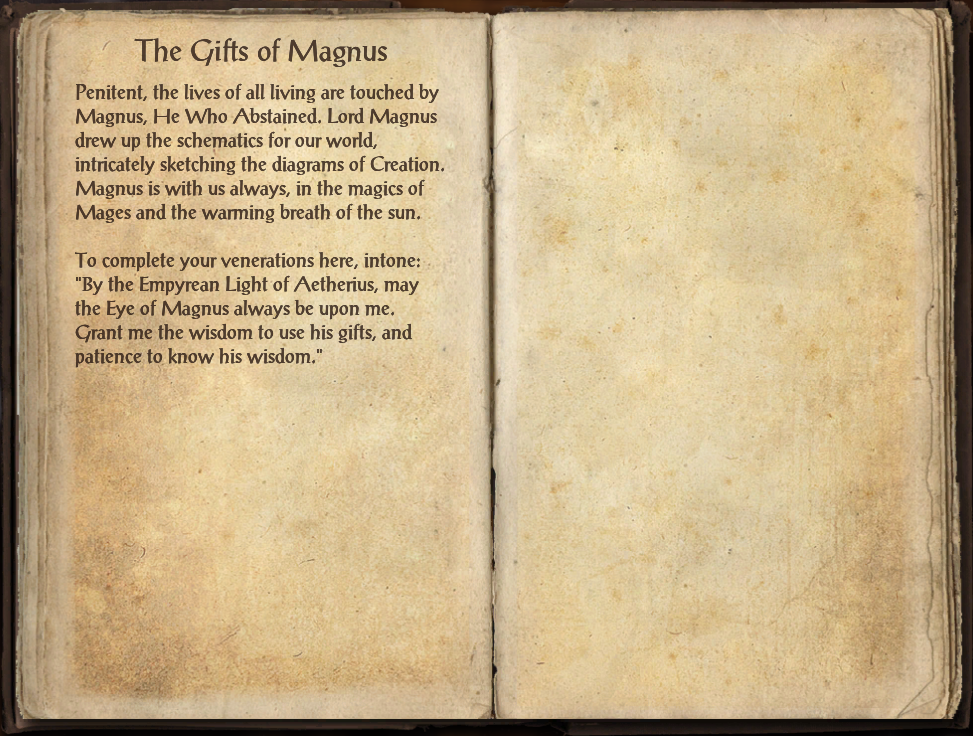The Gifts of Magnus