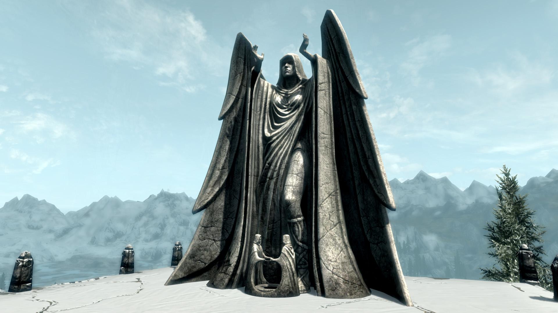 Статуя Меридии