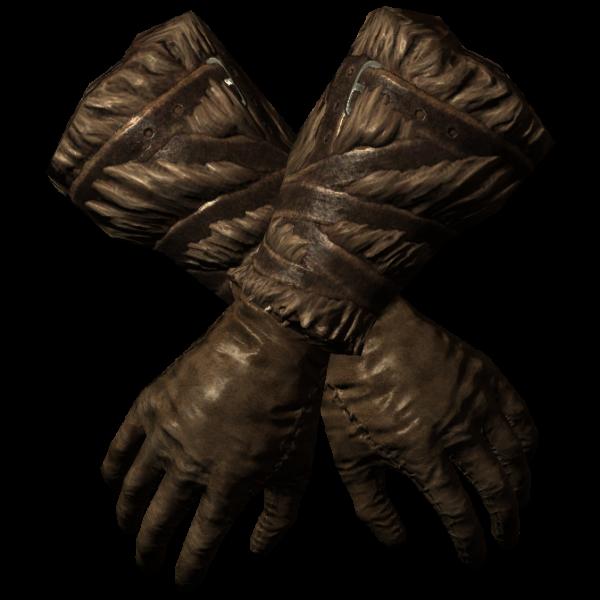 Меховые перчатки (Skyrim)