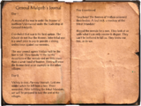 General Malgoth's Journal