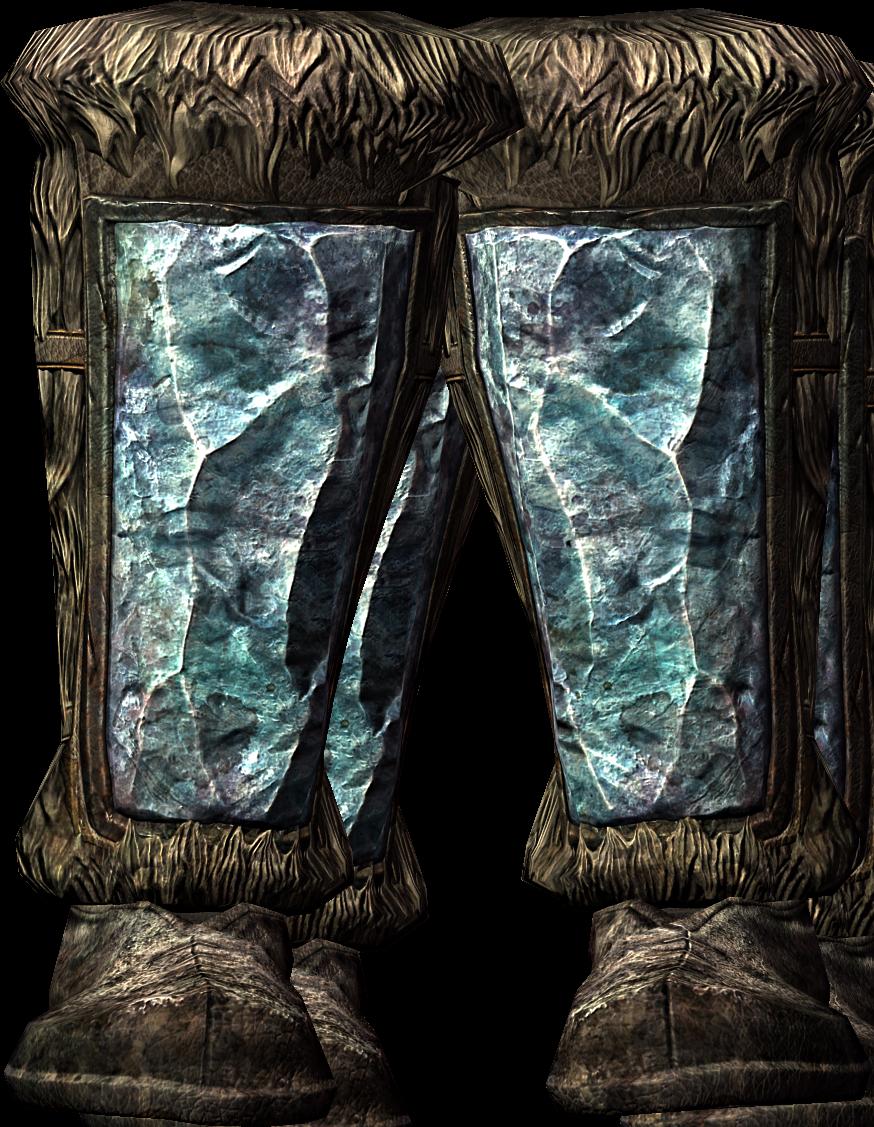 Stalhrim Boots (Dragonborn)