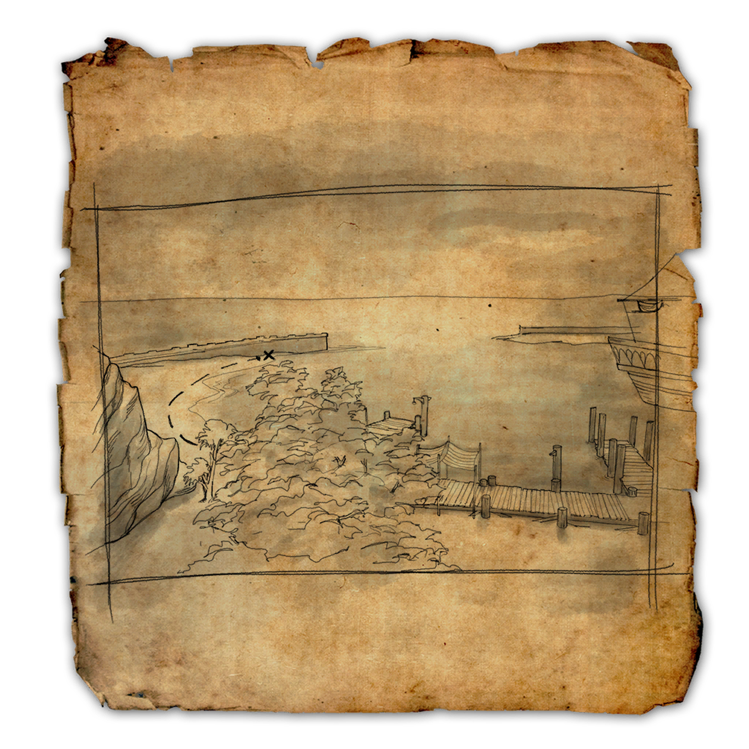 Auridon CE Treasure Map