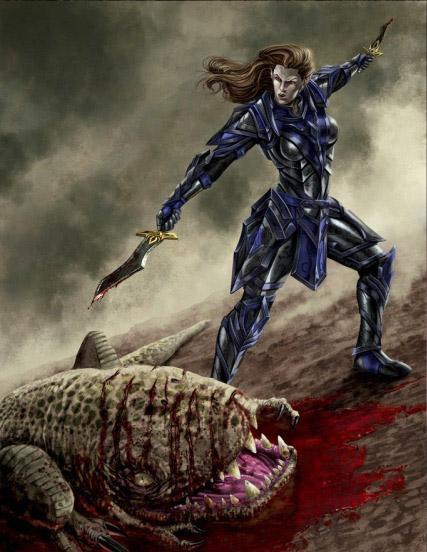 Arms and Armor of the Dunmeri Champion: Belderi Llenim