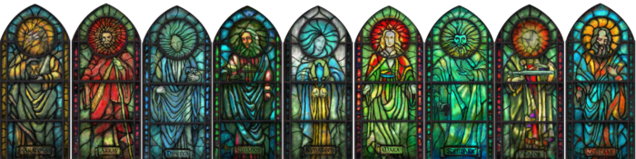 Nine Divines Stained Glass.png