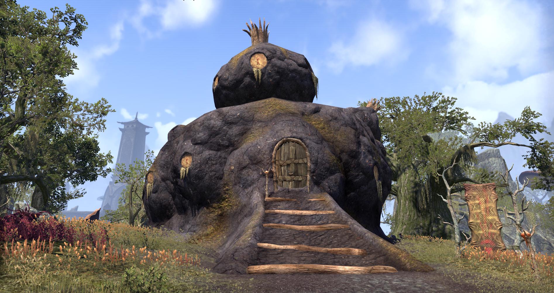 Seeks-the-Night's Hut