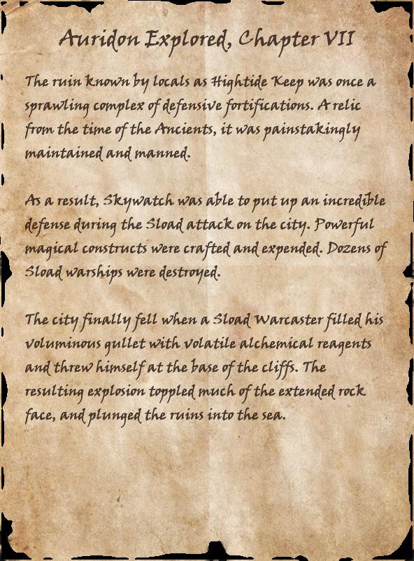 Auridon Explored VII