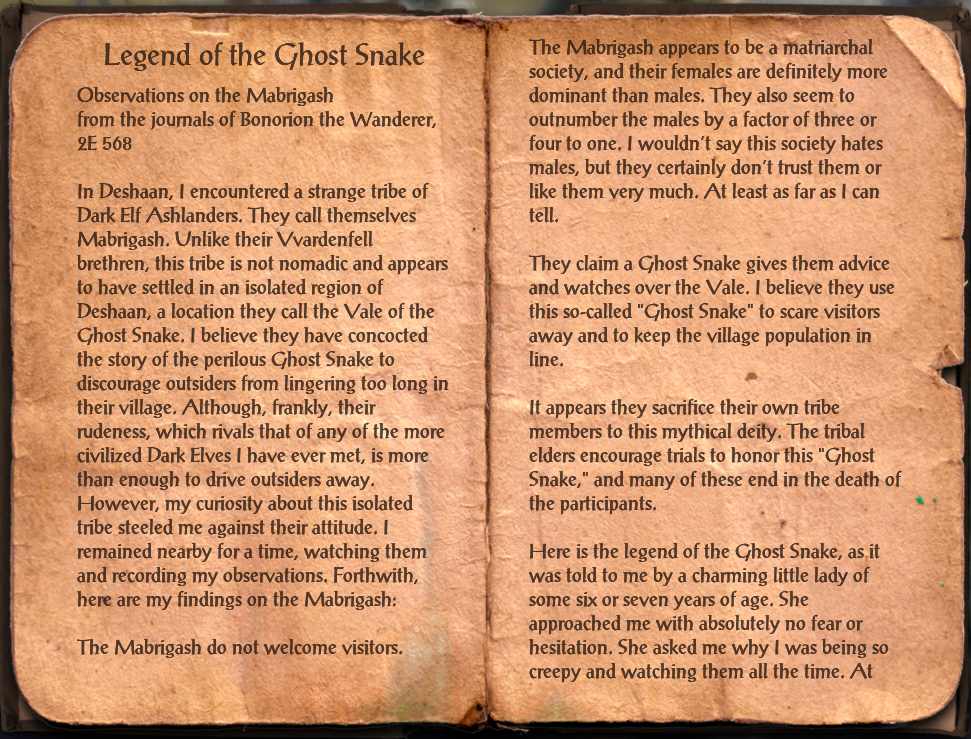 Legend of the Ghost Snake