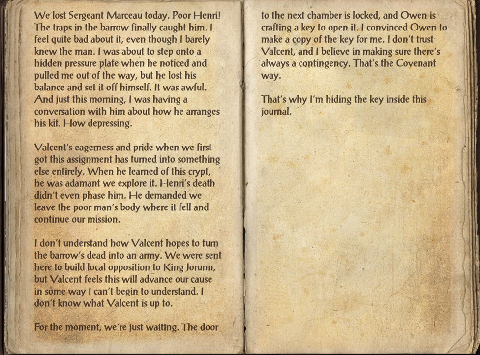 Ophelia's Journal
