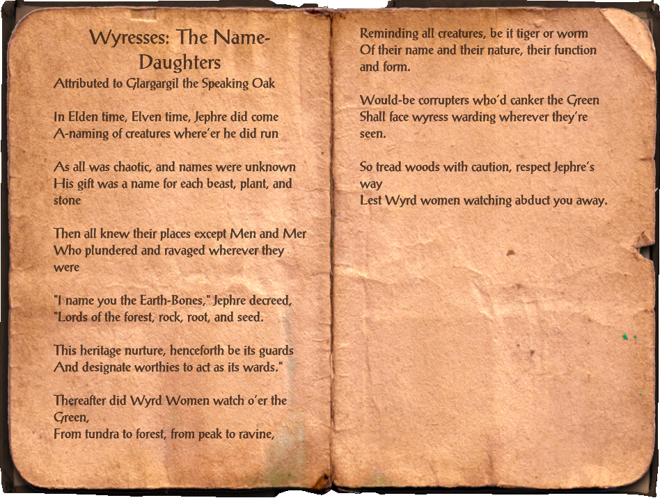Wyresses: The Name-Daughters