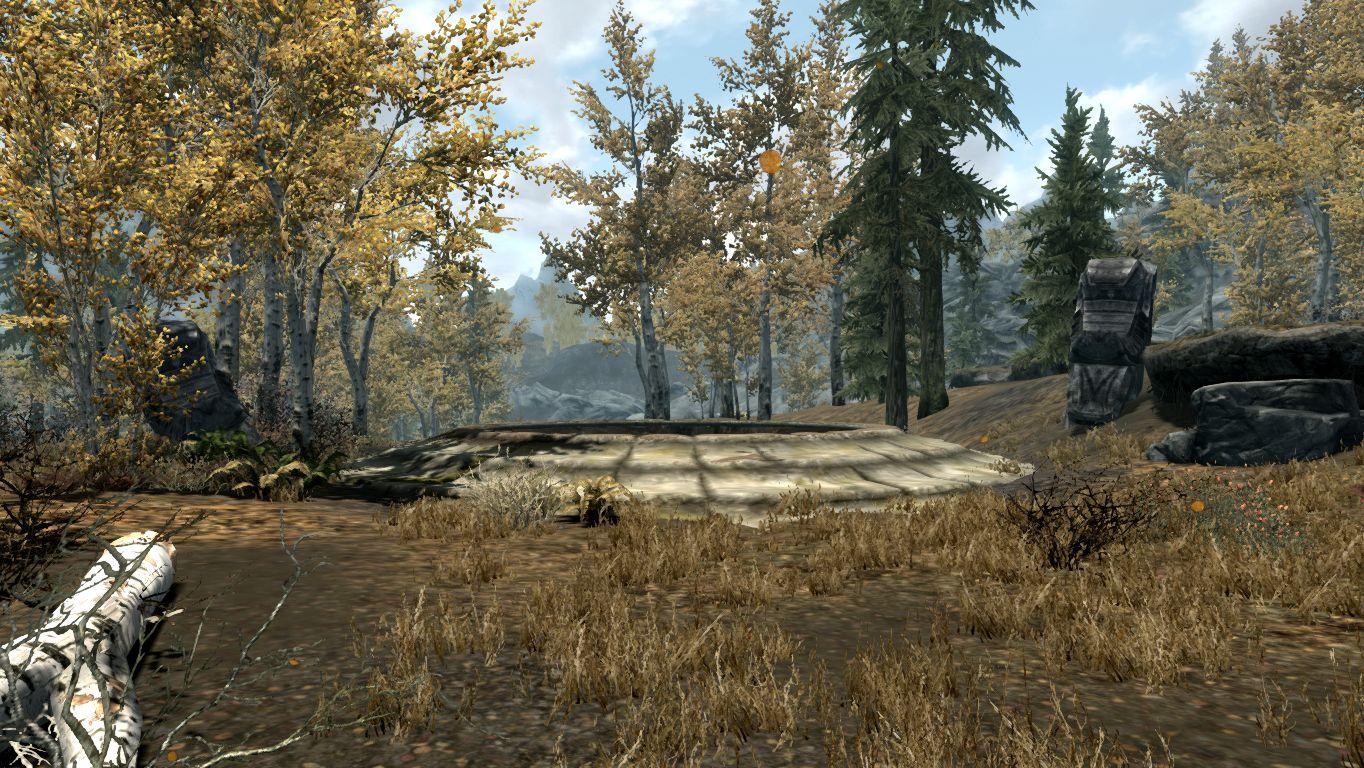 Драконий курган — Осенний лес