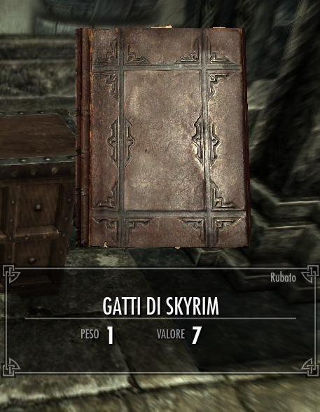 Gatti di Skyrim