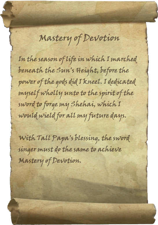 Mastery of Devotion