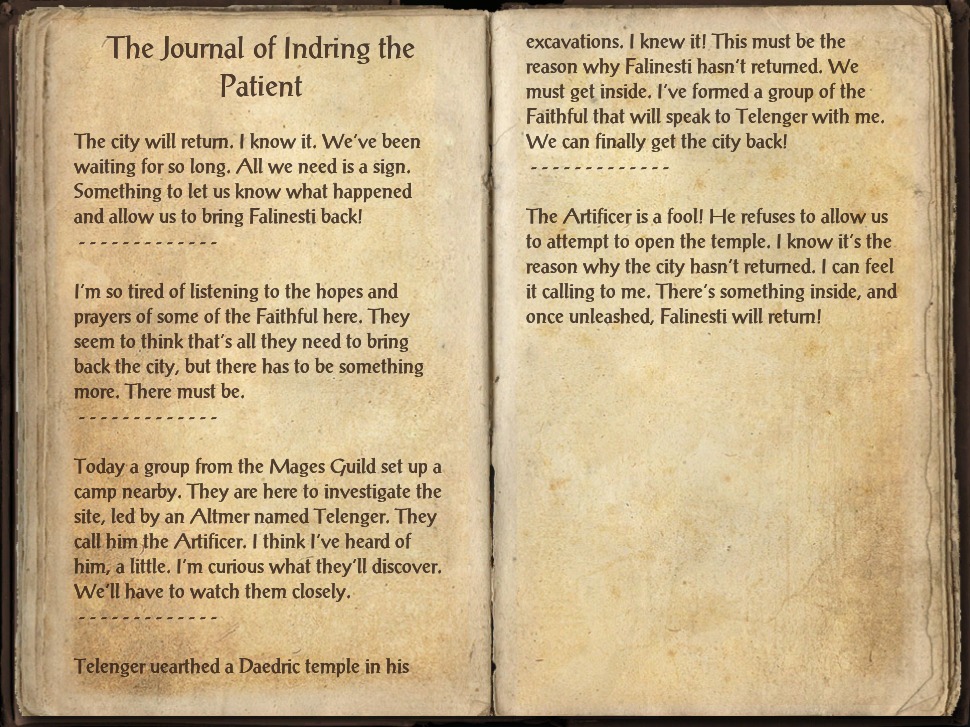 The Journal of Indring the Patient