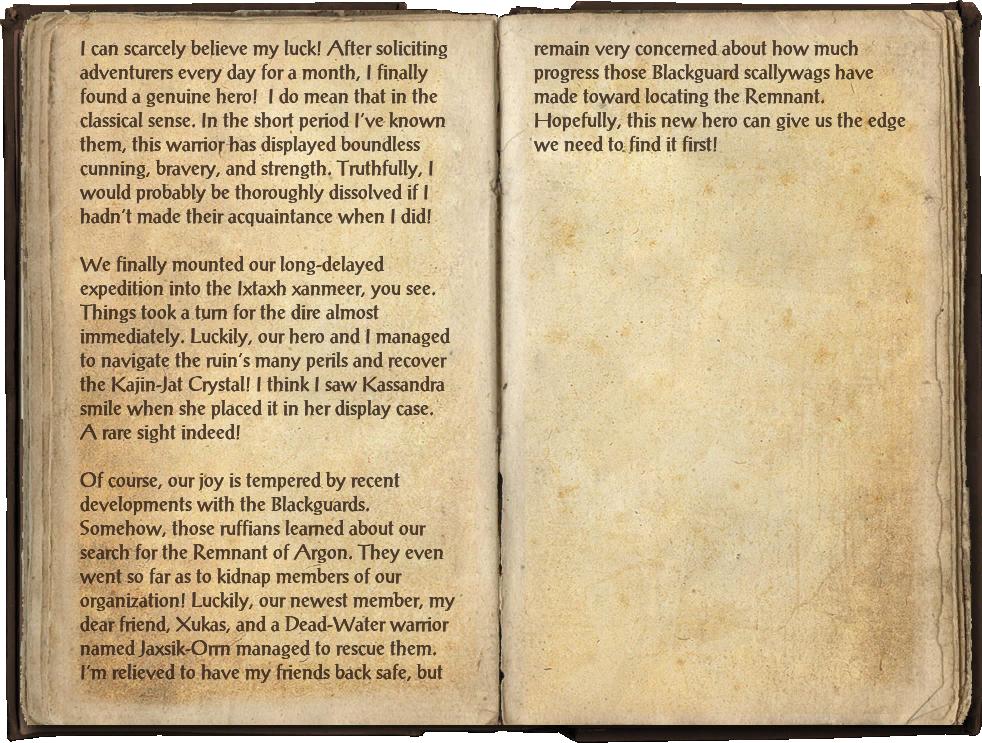 Famia Mercius's Journal, Part 1