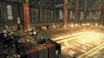 Wnętrze Jorrvaskr (Skyrim)