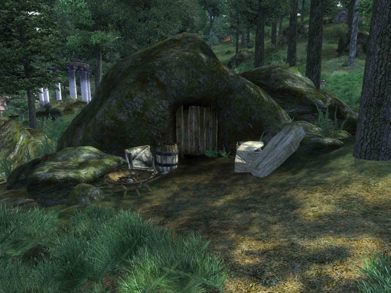 Карстовые пещеры (Oblivion)