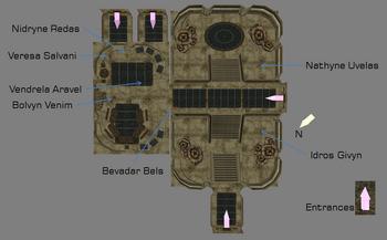 Private Quarters map