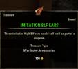 Imitation Elf Ears