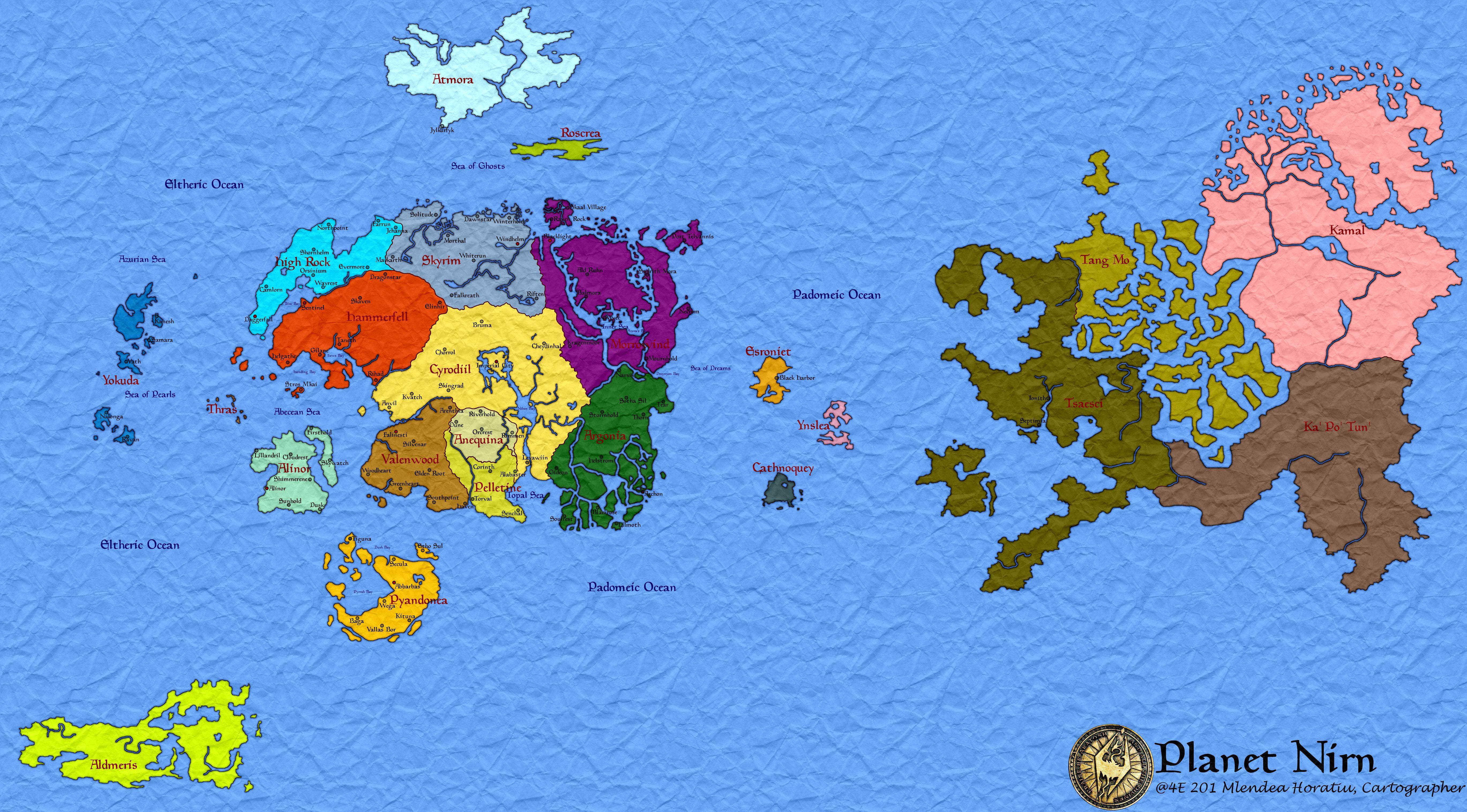Cartina Mondo Wikipedia.Nirn The Elder Scrolls Wiki Fandom