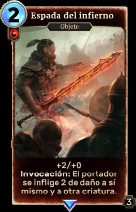 Espada del infierno
