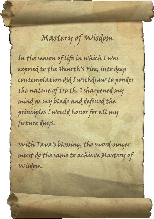 Mastery of Wisdom