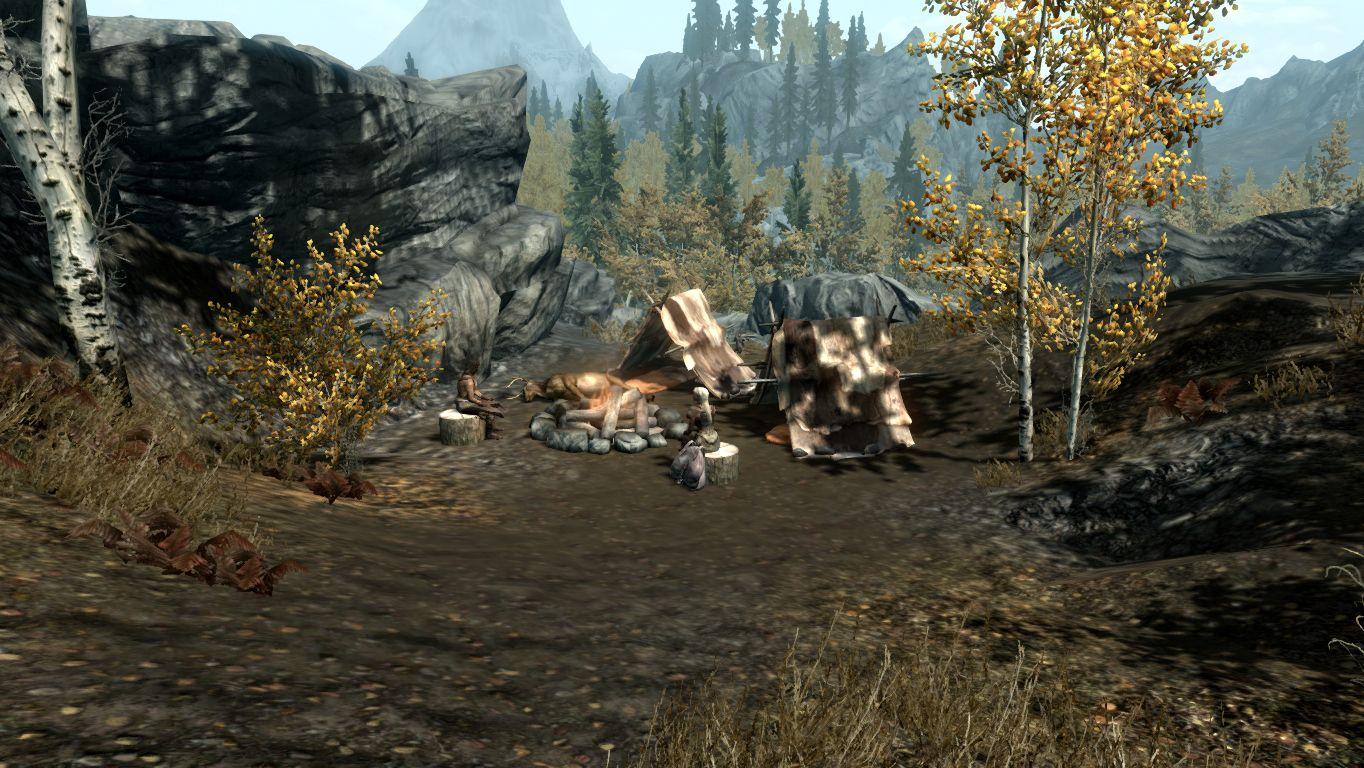 Лагерь охотника — Осенние холмы