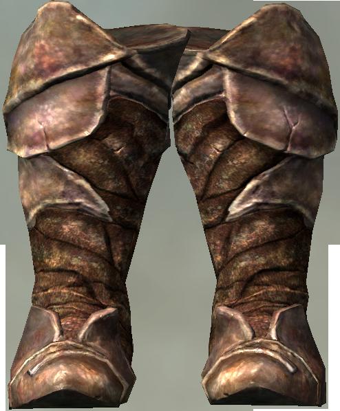 Chitin Heavy Boots