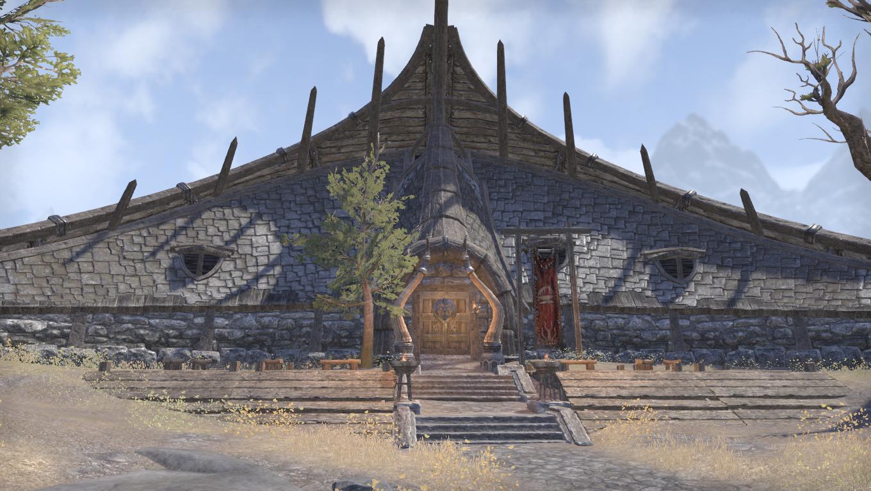 Длинный дом вождя Абзуга