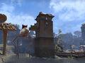 Силт страйдер рядом с караванной башней