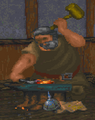 Fighters Guild Blacksmith